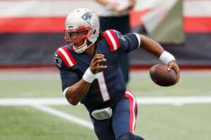 Cam Newton, the Patriots quarterback, during a game last week.