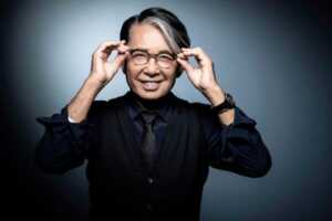 Kenzo Takada in 2018. He died in the middle of a Paris Fashion Week that has been struggling to go on despite the pandemic.