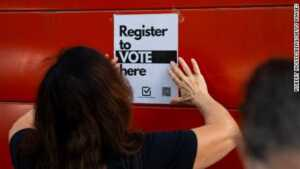 Registering to vote during the pandemic is even more difficult in nine states that don't offer online voter registration. For folks without printers, the additional hurdle to register may not always be worth it.