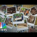 Family's Mission To Provide Desks For Kids In Need | NBC Nightly News