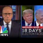 NBC Nightly News Broadcast (Full) - October 16th, 2020 | NBC Nightly News