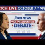 WATCH LIVE: 2020 Vice Presidential Debate between VP Mike Pence, Kamala Harris in Utah