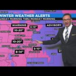 WINTER STORM WARNING FOR DENVER AND FRONT RANGE