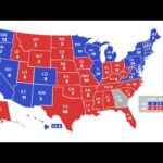 2020 election highlights the economic divide between blue and red states