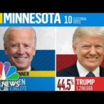 NBC News Projects Joe Biden Will Win Minnesota | NBC News