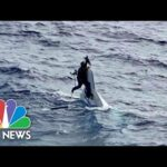 Boater Missing For 2 Days Found Clinging To Capsized Boat | NBC Nightly News