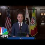 Southern California Residents To Face Sweeping New Stay-At-Home Measures   NBC Nightly News