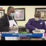 Kenny gets a Soul Food cooking lesson